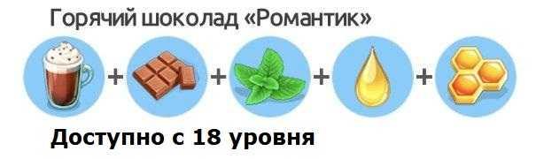 Горячий шоколад Романтик