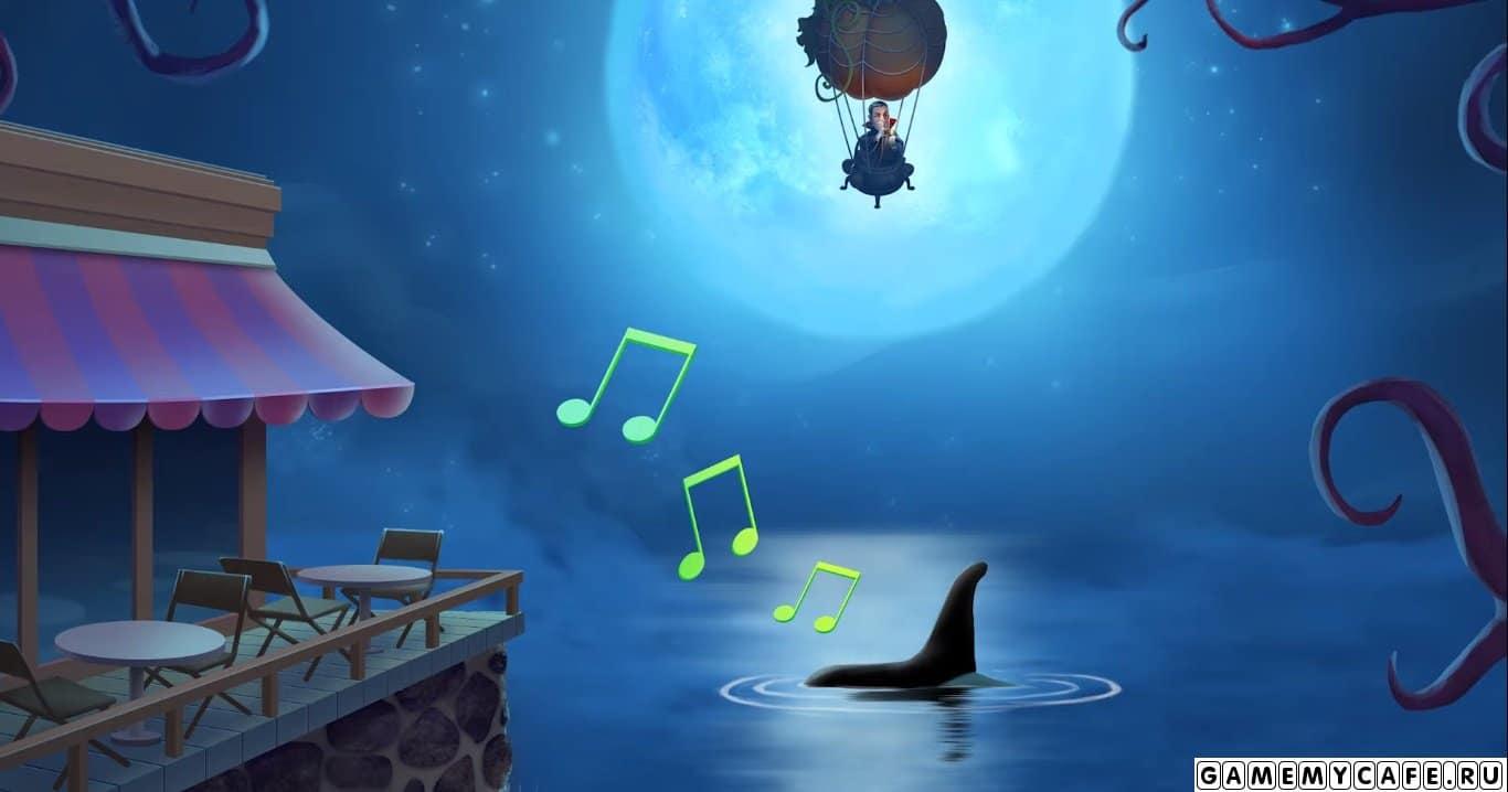 Кроме этого по истории с Диего мы узнаем, что в городском озере появилось какое существо, которое издают различные звуки. Нам нужно будет изучить, что же это такое?