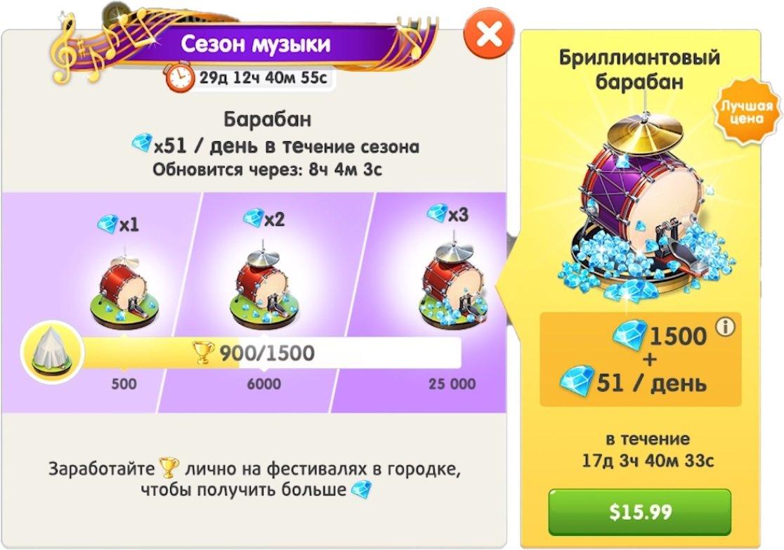 """""""Сезон музыки"""" в обновлении 2020.7.1 Моя кофейня"""