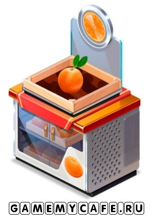 Витрина для апельсинов