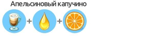 Апельсиновый капучино